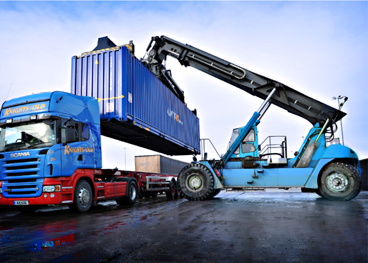 container transport services in india